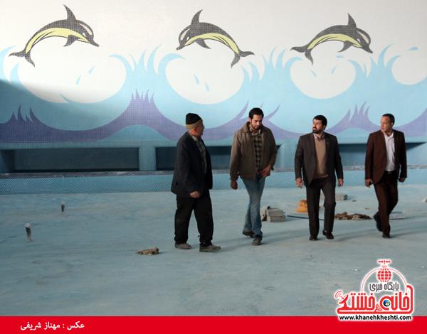 پارک آبی نشاط رفسنجان-خانه خشتی