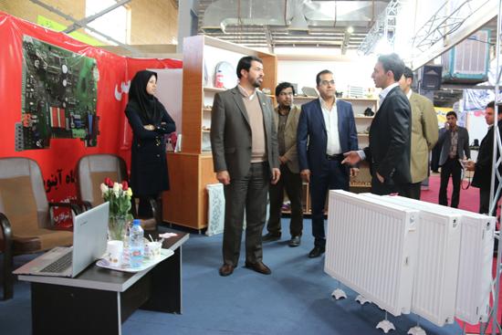 فرماندار از نمایشگاه تخصصی دکوراسیون داخلی و صنعت ساختمان بازدید کرد / تصاویر