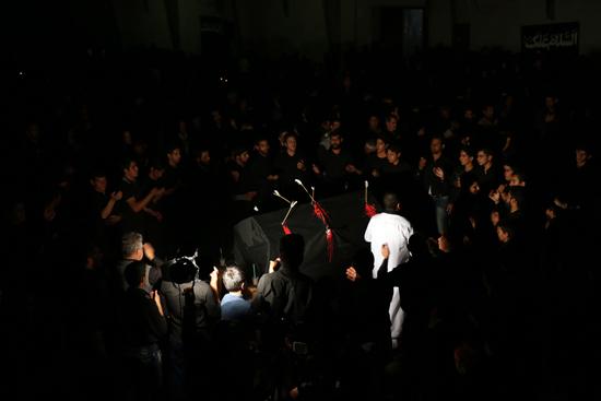 دوربین خانه خشتی در شام غریبان حضرت امام رضا (ع) آستان قدس رضوی رفسنجان