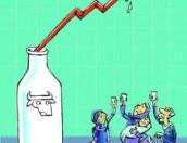 شیر در شیب ملایم افزایش قیمت