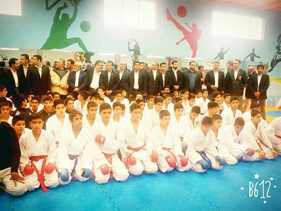 حضور ۵ باشگاه کاراته رفسنجان در مسابقات قهرمانی استان انتخابی تیم ملی