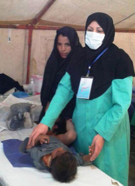 ویزیت رایگان بیش از هزار و ۶۰۰ نفر از اهالی دلگان بلوچستان توسط تیم اعزامی بسیج جامعه پزشکی رفسنجان
