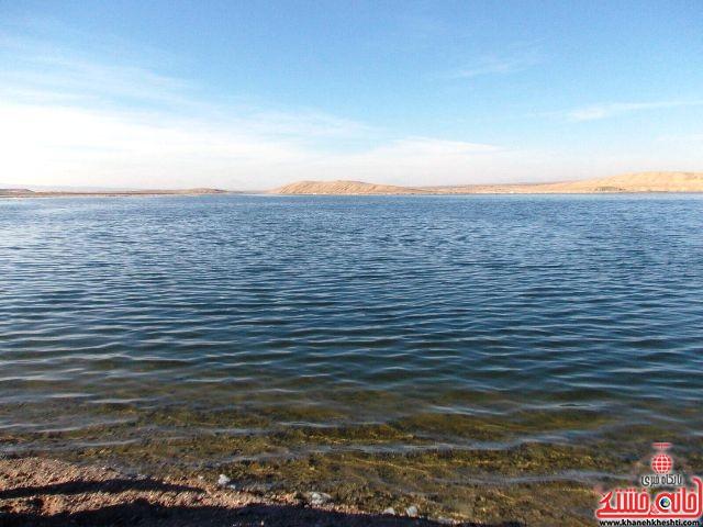 دریاچه شور رفسنجان گنجی اقتصادی برای کشور / عکس