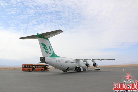 حال و روز بد فرودگاه رفسنجان از دست مسئولین با تدبیرش؟!