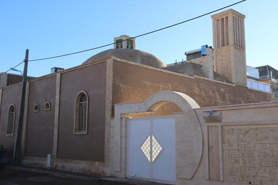 ساخت اولین خانه در رفسنجان با معماری سنتی قدیمی / تصاویر
