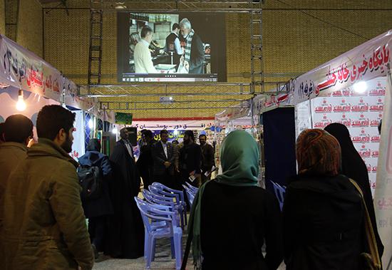 فیلم های عمار به نمایشگاه کتاب و مطبوعات رفسنجان آمدند