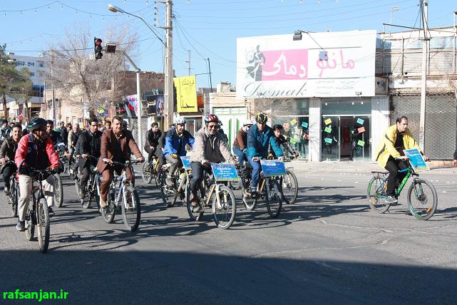 شهردار رفسنجان به کمپین محیط زیستی «سه شنبه پاک» پیوست
