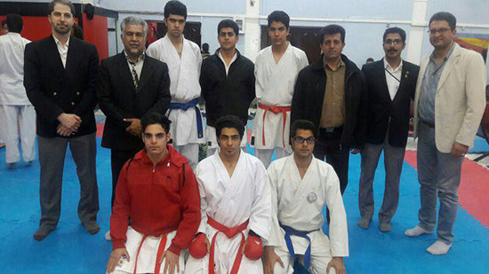 درخشش ورزشکاران باشگاه ملی پوشان در مسابقات درون اردویی استان / عکس