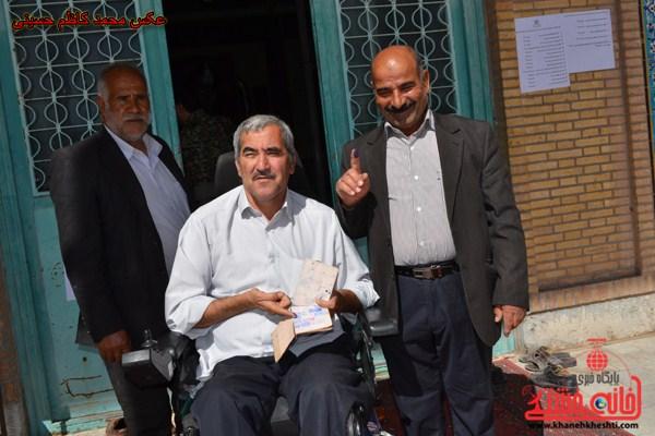 حضور مردم در انتخابات مجلس دهم رفسنجان
