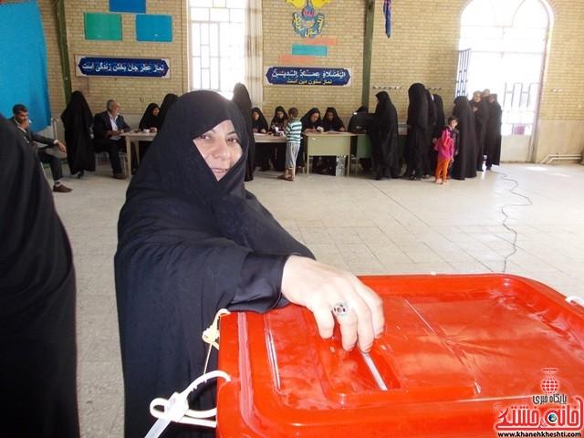 انتخابات هفتم اسفند جوادیه فلاح و الهیه رفسنجان_خانه خشتی (۱۸)