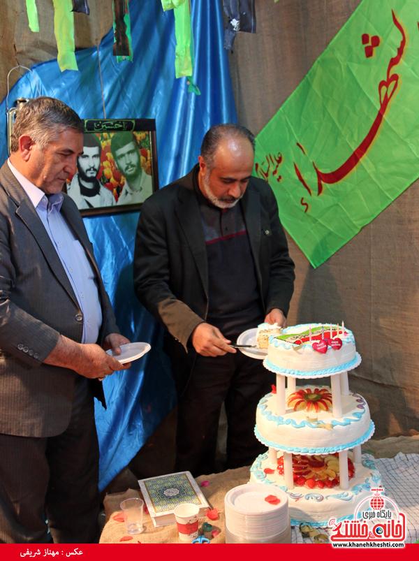 جشن تولد شهید میرافضلی-خانه خشتی (۱)