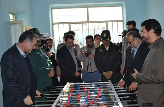 دومین خانه ورزش استان کرمان در هرمزآباد رفسنجان افتتاح شد / تصاویر