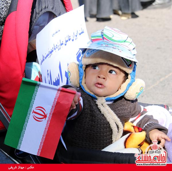 راهپیمایی ۲۲ بهمن ۹۴ رفسنجان -خانه خشتی (۱۱)