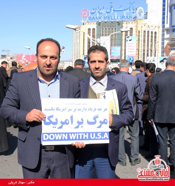 راهپیمایی ۲۲ بهمن ۹۴ رفسنجان -خانه خشتی (۱۷)