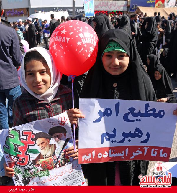 راهپیمایی ۲۲ بهمن ۹۴ رفسنجان -خانه خشتی (۲۱)
