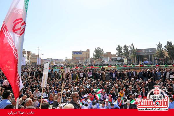 راهپیمایی ۲۲ بهمن ۹۴ رفسنجان -خانه خشتی (۲۸)