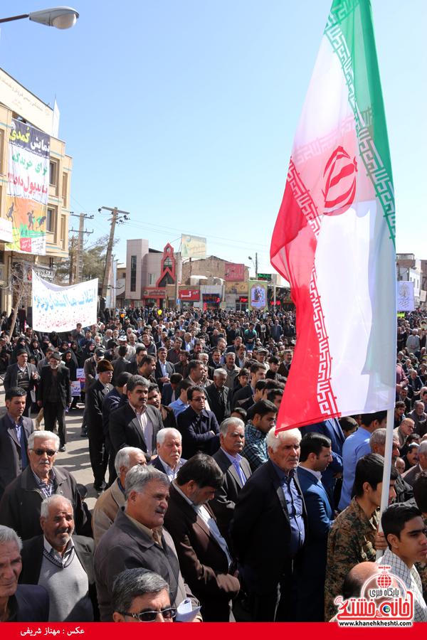 راهپیمایی ۲۲ بهمن ۹۴ رفسنجان -خانه خشتی (۲۹)