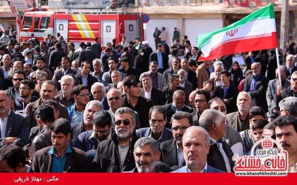 راهپیمایی ۲۲ بهمن ۹۴ رفسنجان -خانه خشتی (۳۱)