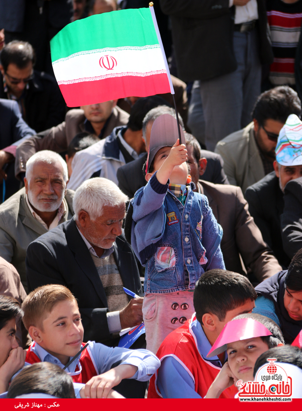 راهپیمایی ۲۲ بهمن ۹۴ رفسنجان -خانه خشتی (۳۴)