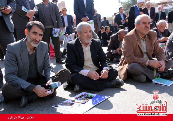 راهپیمایی ۲۲ بهمن ۹۴ رفسنجان -خانه خشتی (۳۵)