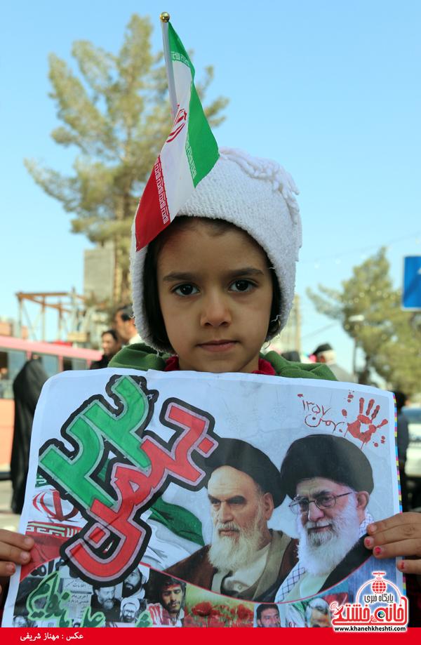 راهپیمایی ۲۲ بهمن ۹۴ رفسنجان -خانه خشتی (۴۸)