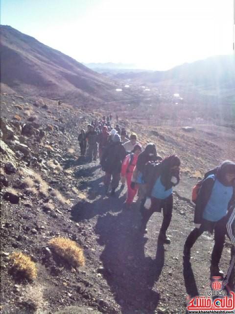 صعود مشترک به قله برفدون راویز رفسنجان_خانه خشتی (۲)