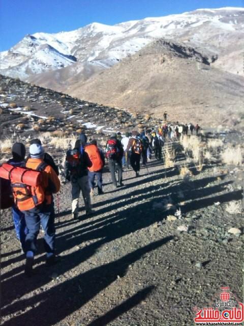 صعود مشترک به قله برفدون راویز رفسنجان_خانه خشتی (۵)