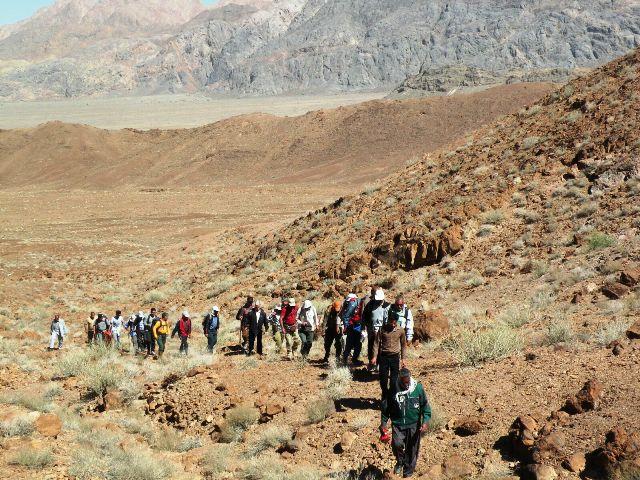 بازدید گروه کوهنوردی نسیم صبح از جاذبه های دیدنی جوادیه فلاح