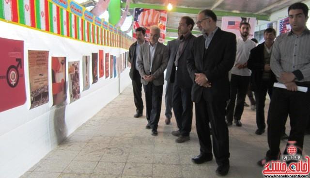 نمایشگاه انقلاب دهه فجر رفسنجان_خانه خشتی (۵۰)
