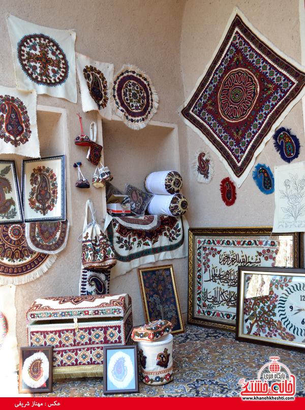 نمایشگاه توانمندی بانوان رفسنجان-خانه خشتی (۱)