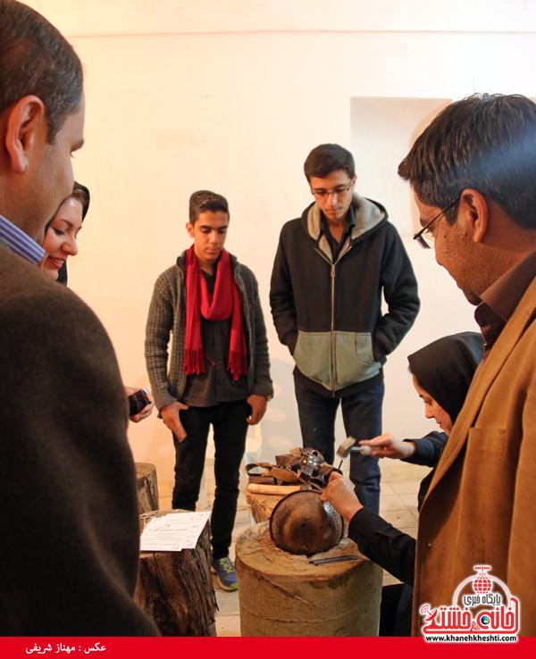 نمایشگاه توانمندی های بانوان رفسنجان-خانه خشتی (۱۳)