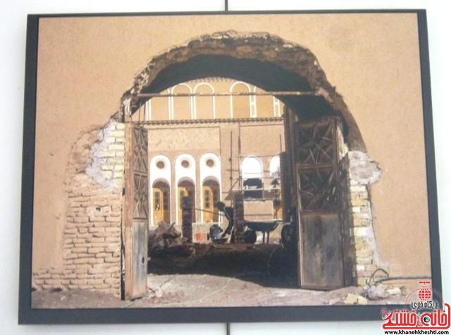 نمایشگاه عکس سیمای شهری_خانه خشتی_رفسنجان_بهناز شریفی (۱۲)