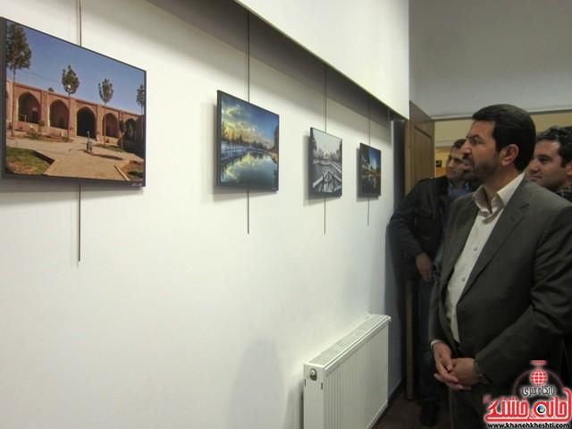 نمایشگاه عکس سیمای شهری_خانه خشتی_رفسنجان_بهناز شریفی (۳)
