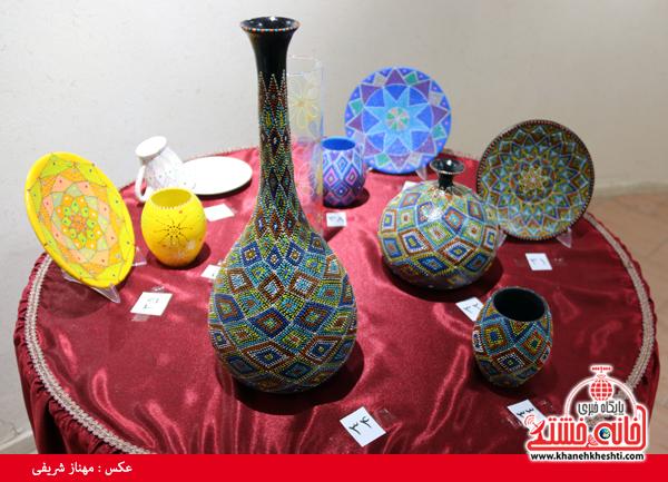 نمایشگاه گروهی نقاشی و صنایع دستی-رفسنجان-خانه خشتی (۱۱)
