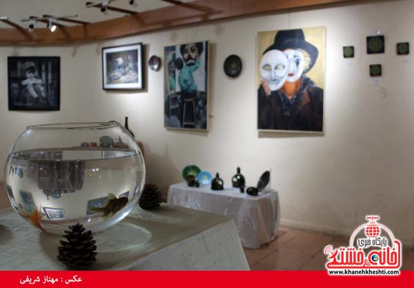 نمایشگاه گروهی نقاشی و صنایع دستی-رفسنجان-خانه خشتی (۱۲)