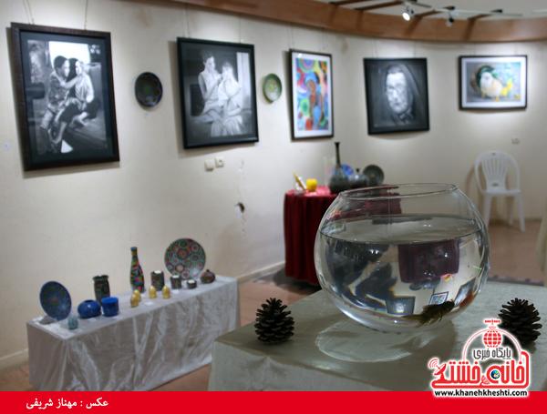 نمایشگاه گروهی نقاشی و صنایع دستی-رفسنجان-خانه خشتی (۱۴)