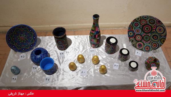نمایشگاه گروهی نقاشی و صنایع دستی-رفسنجان-خانه خشتی (۲)
