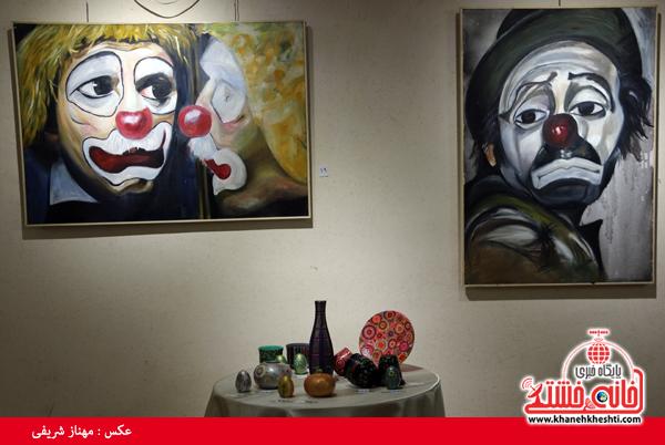 نمایشگاه گروهی نقاشی و صنایع دستی-رفسنجان-خانه خشتی (۳)