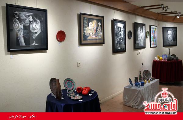 نمایشگاه گروهی نقاشی و صنایع دستی-رفسنجان-خانه خشتی (۵)