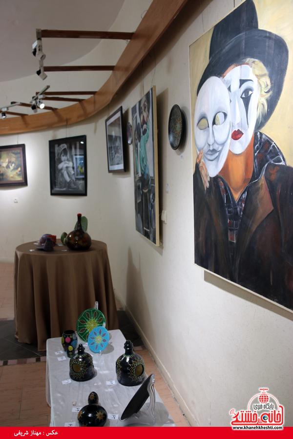 نمایشگاه گروهی نقاشی و صنایع دستی-رفسنجان-خانه خشتی (۶)