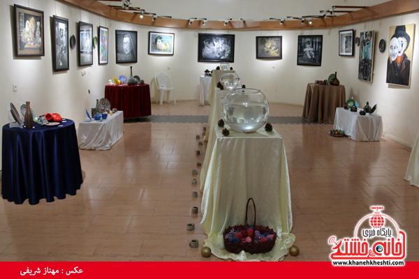 نمایشگاه گروهی نقاشی و صنایع دستی-رفسنجان-خانه خشتی (۸)