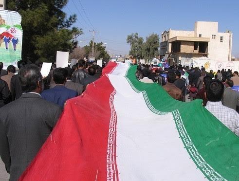 تصاویر / حضور باشکوه مردم صفائیه در راهپیمایی ۲۲ بهمن
