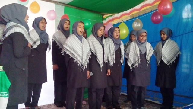 برپایی جشن انقلاب در مدارس جوادیه فلاح + عکس