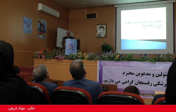 روزانه نزدیک به ۴۰۰ نفر به اورژانس بیمارستان علی بن ابیطالب (ع) رفسنجان مراجعه می کنند
