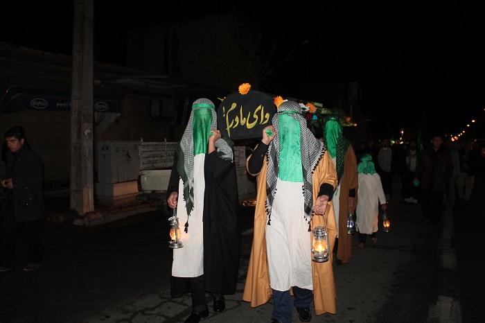 برگزاری سوگ نبوی در امامزاده سیدجلال الدین رفسنجان