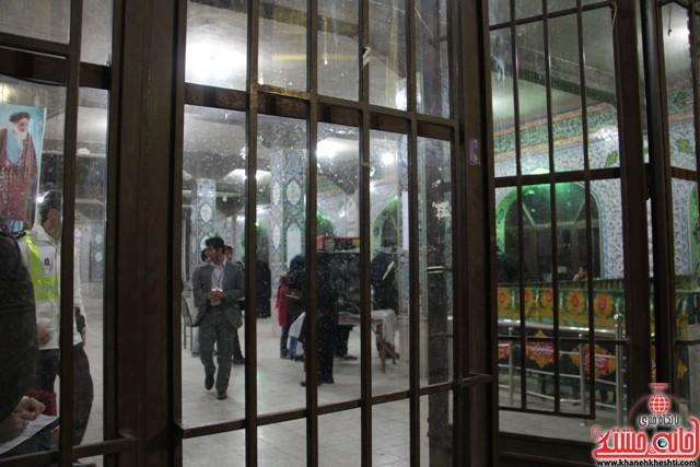 فضای بسته انتخابات برای خبرنگاران در رفسنجان