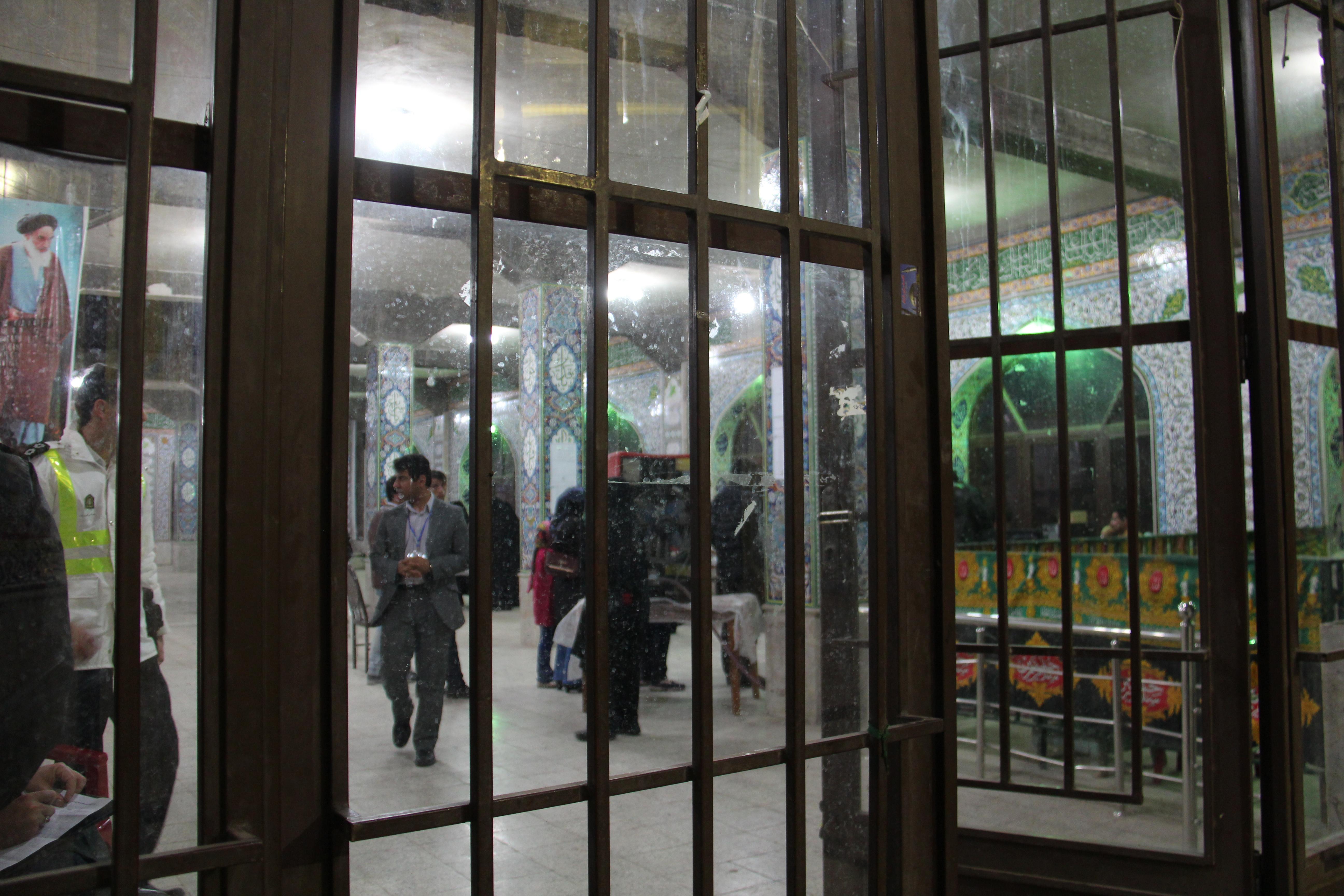 عکس خبری / فضای بسته انتخابات برای خبرنگاران در رفسنجان