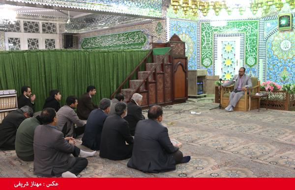 کرسی تلاوت مجمع قاریان و حافظان رفسنجان برگزار می شود/ تصاویر
