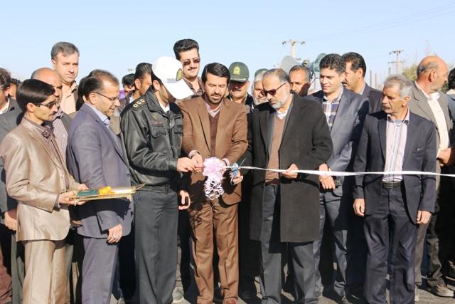 باند دوم محورهای هرمزآباد، اسلام آباد و شریف آباد افتتاح شد + عکس