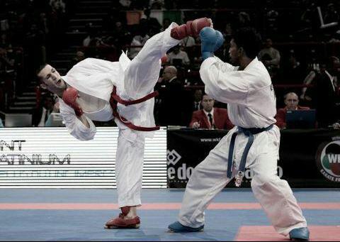 مسابقات کاراته قهرمانی رفسنجان برگزار شد